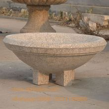 Garden flower pots of granite oriental flower pots