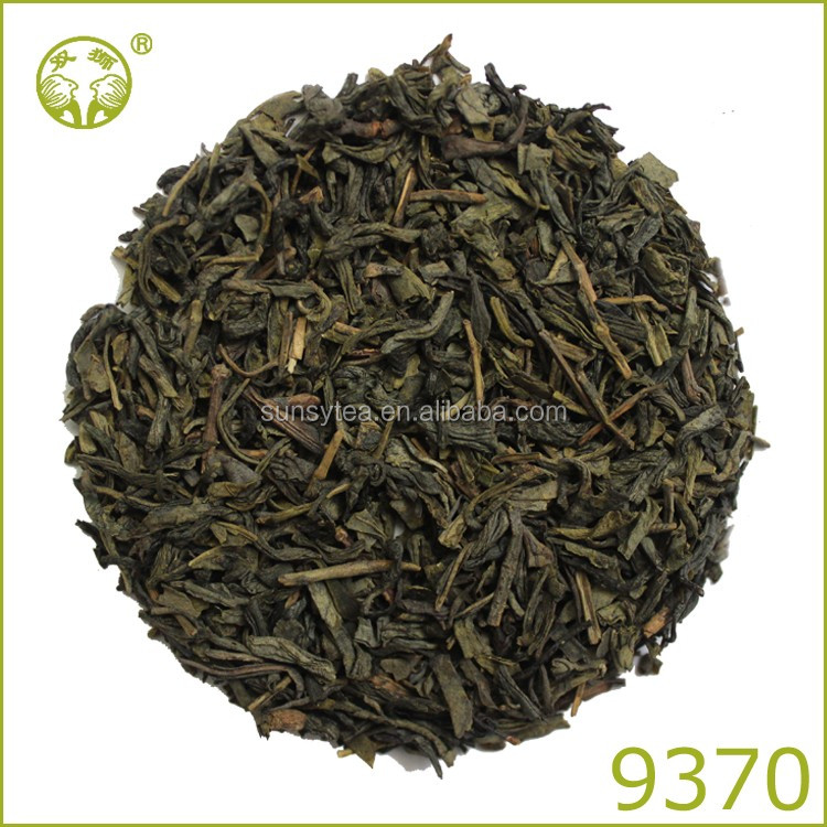 Certified china well-known chunmme green tea 9370 body slim tea