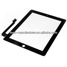 2012 new fashionable mobile phone colored white front and back touch screen digitizer for ipad 3 with factory price