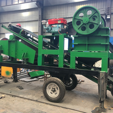 HOT type mobile crushing and screening plant is widely used in road and bridge construction