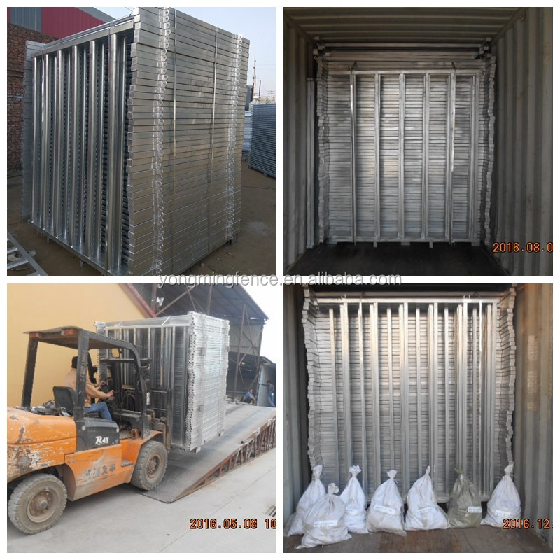 Galvanized Welded Cattle Corral Panels for Australia Market