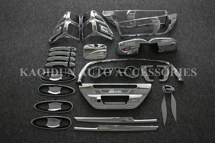 Cheap price products 100% perfect fit chrome full set for hilux revo 2015 2016