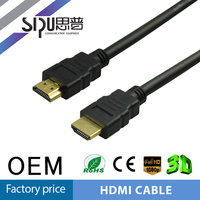 SIPU Professional high speed 1.4 version hdmi cable for sale high speed audio video cable best price 1.5m cable hdmi supplier
