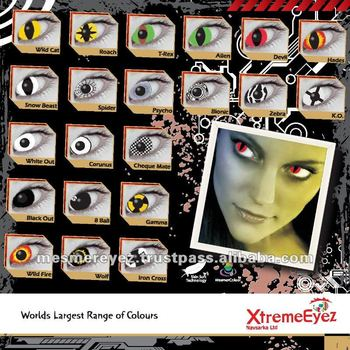 Colour Cosmetic contact lenses