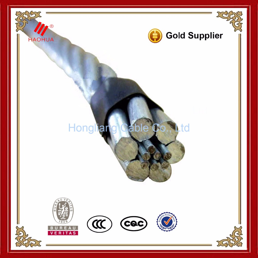 No.0706- BS 215 100sqmm aerial Price of Overhead line Aluminium Cable Bare ACSR dog conductor specification