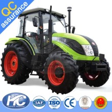 China cheap 100HP / 130 HP agricultural machinery farm tractor 4 wheel drive tractor with front end loader