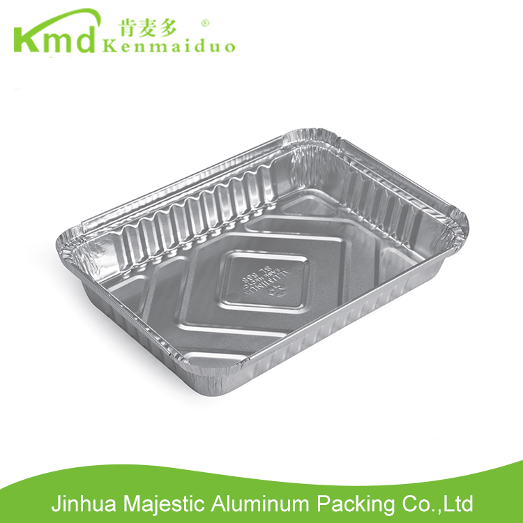 Aluminium Rfd217 Silver Manufacturer Supply one time use food container
