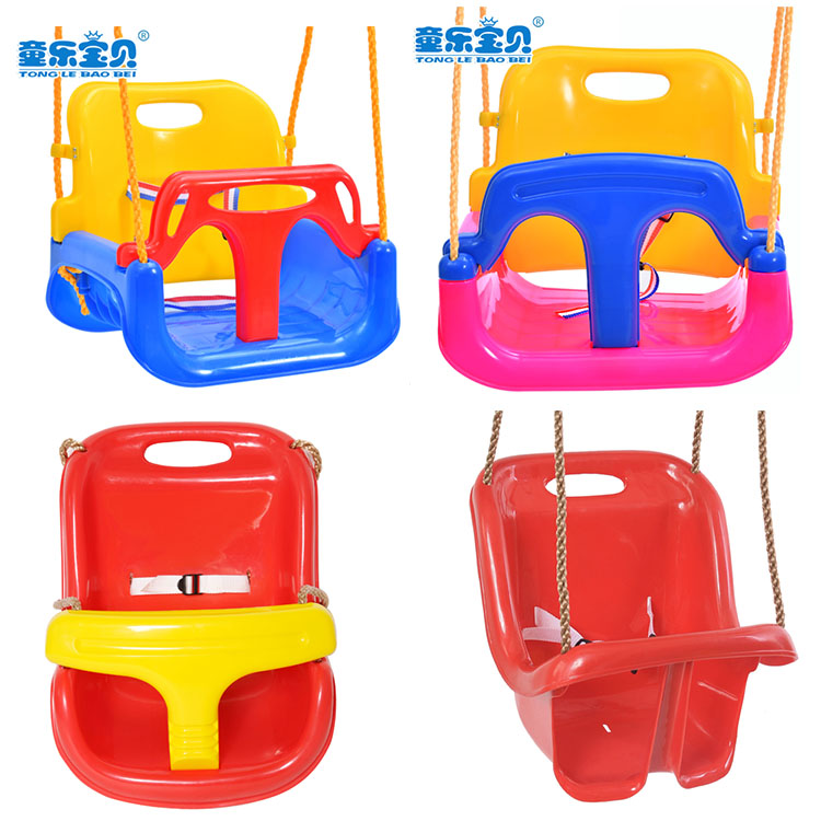 various safe indoor outdoor playground garden plastic baby and kinds swing for toddler