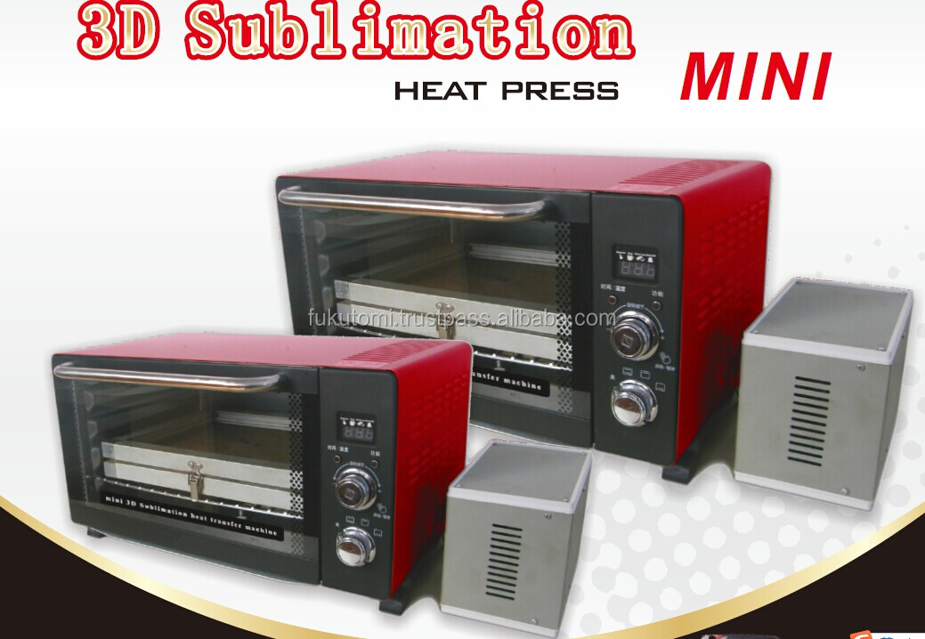 Newest Mini multifunctional 3D vacuum sublimation heat transfer press