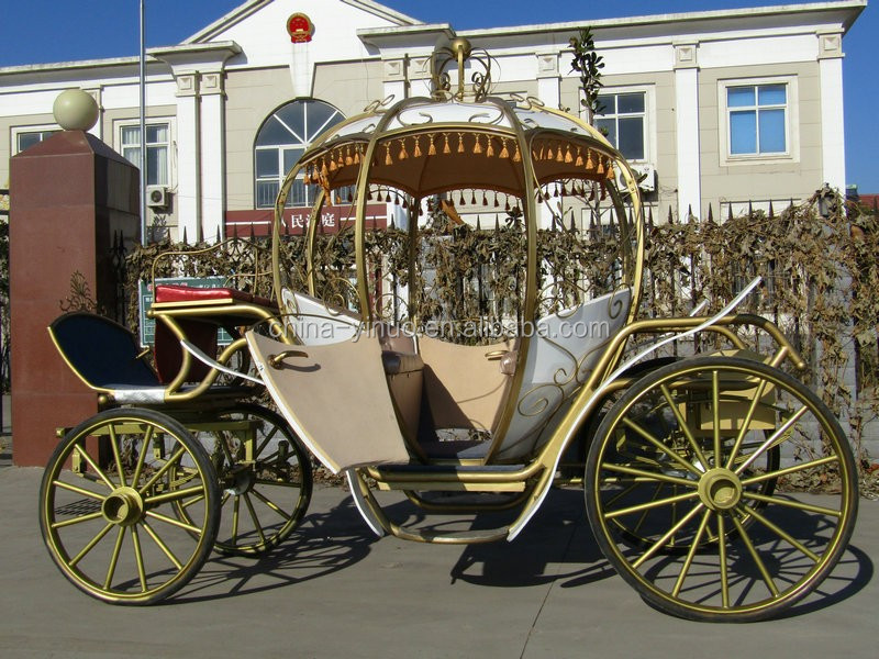 Hand sheet metal pattern Romantic cinderella carriage