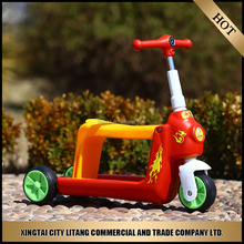 Chinese best scooter toy car/best scooter wheels for baby kids