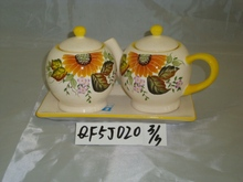 ceramic tea pot,tea/coffee/sugar kitchen storage,household ware