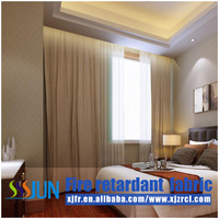 Luxury Five Star Hote Fire Retardant Hotel Curtains