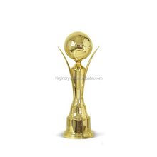 Gold Plated World Cup Soccer Trophy for Souvenirs Awards