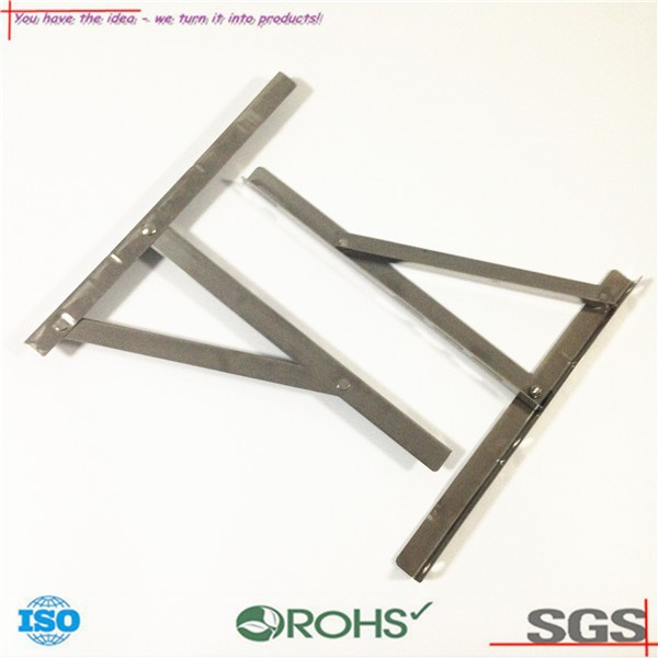 OEM ODM Air conditioner bracket air conditioner outdoor bracket part stamping High quality Stainless steel AC Bracket Home Use