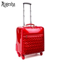 Easy travel trolley luggage bags & cases/luggage with removable wheels