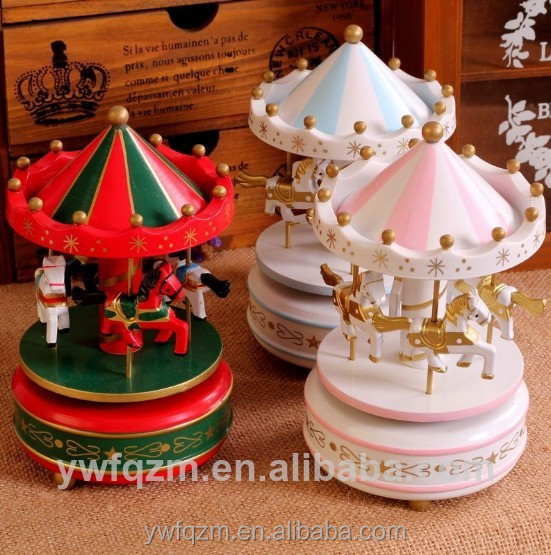 2016 new wooden cheap music boxes