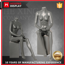 HX-TB-6SM055 Full Body Sexy Sitting Female Mannequin Doll