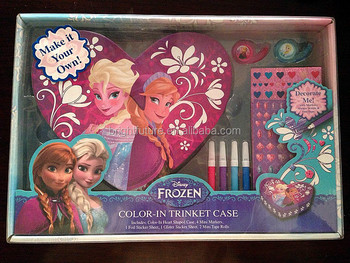 FROZEN : COLOR-IN TRINKET CASE