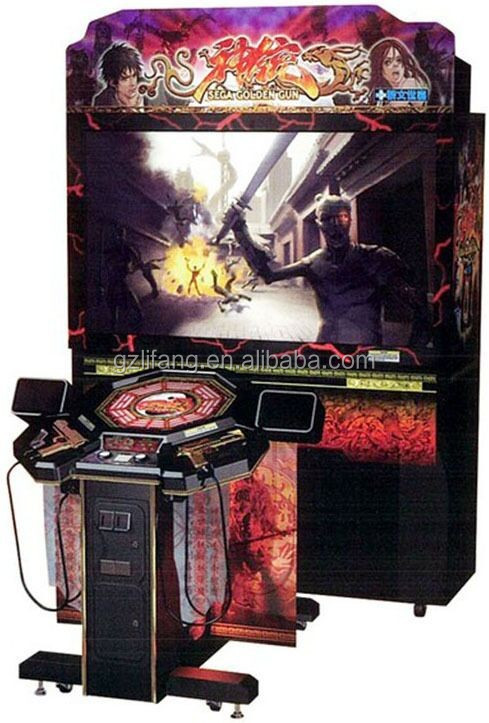 2015 hot sell Terminator Salvation video gun shooting arcade game machine