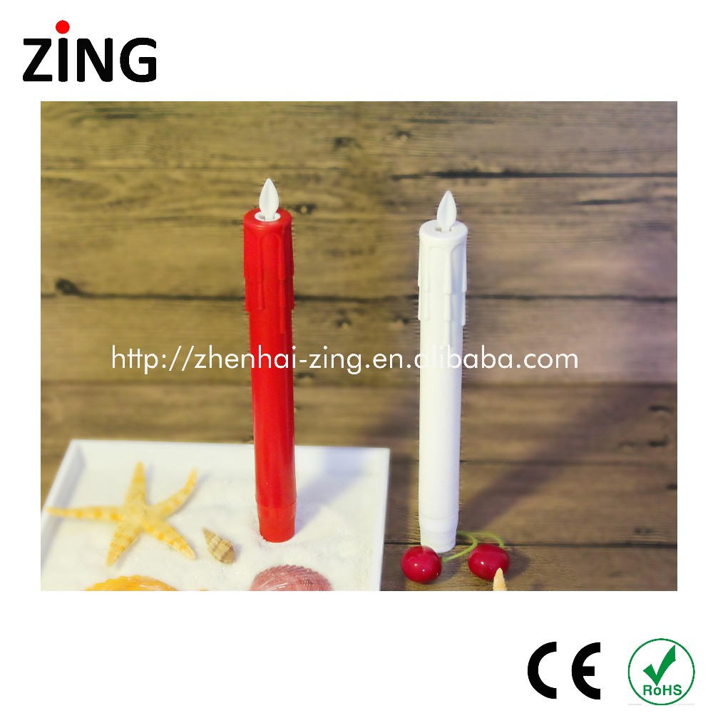 China manufacturer acrylic taper candles manufactured in