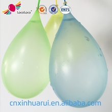 wholesale high quality non toxic white latex water balloons