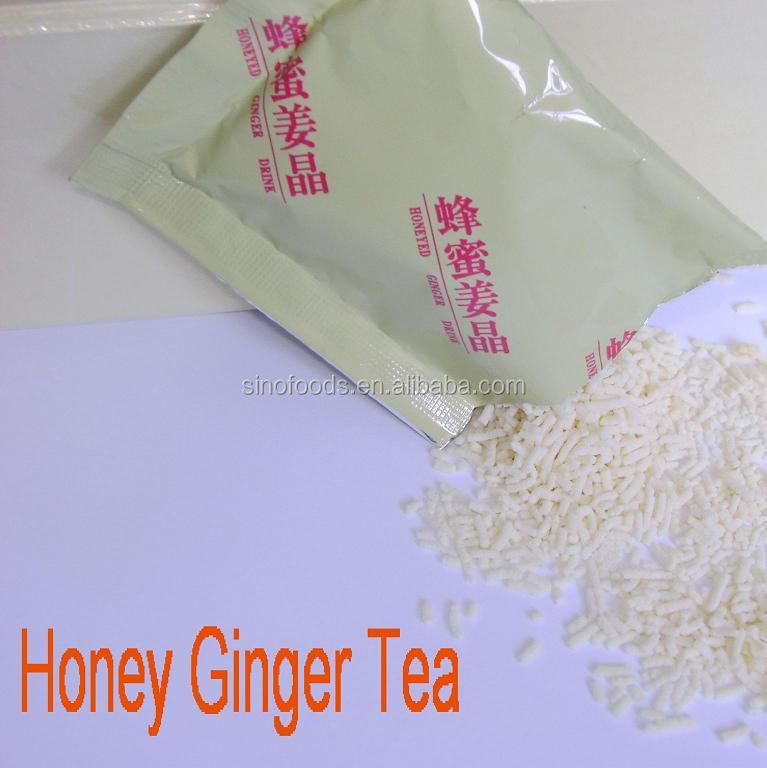 instant tea granule honsei honey ginger tea