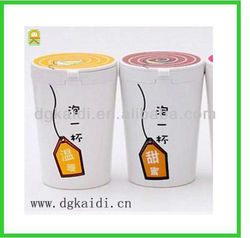 High quality OEM hot sale lovely non-toxic plastic coffee mugs