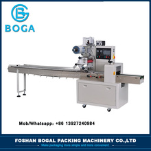foshan horizontal food chocolate bar wrapping packaging machine