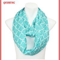 Hot Selling Quatrefoil Infinity Scarf With
