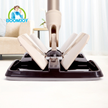 BOOMJOY Microfiber Clamp Flat Cleaning Mop EVA Disposable Dust Mop