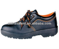 4'' buffalo leather safety shoes