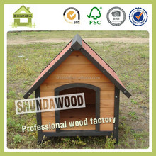 SDD08 fir wood best wooden dog kennel