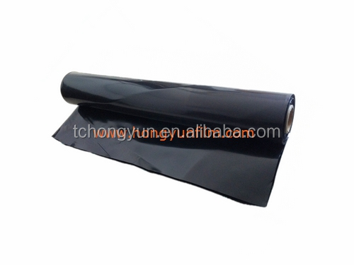 Black Polyethylene Film/Builders Plastic Film or Plastic Underlay Sheet