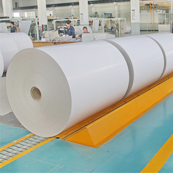 China supplier white coated carton duplex paper board roll