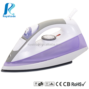 Full function steam iron DM-2008 large soleplate