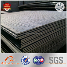 Steel Structure Warehouse Galvanized Checker Steel Sheet Chequered Iron Plate Checkered Plate Specification Checkered Sheet
