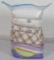 Vacuum Seal Plastic Cube Storage Bags For Bedding Saving 75% More Space