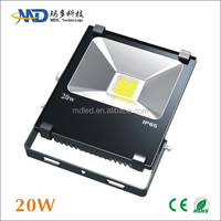 2014 new cob 20W led flood light IP65 Waterproof 90-260V led flood light bulb
