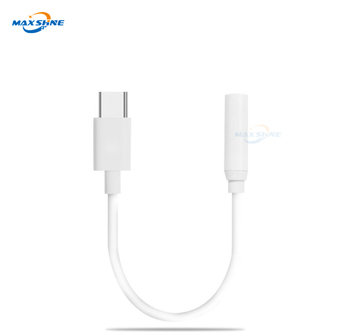 Usb Type c To 3.5mm Headphone Cable Jack Aux Audio Connector Adapter For Xiaomi 5/5s/5s Plus/ 5c/ 5x/ 6