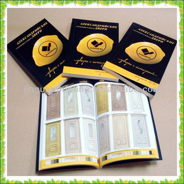 Professional full color catalog/magazine/ book printing