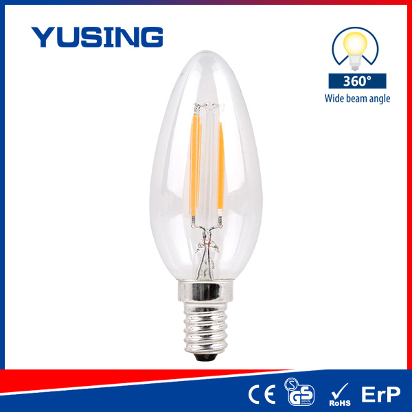 CE Light Bulb IES Files E27 LED Bulb LED Lamp 2W Vintage LED Light Bulb