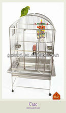 Open Top Large Stainless Steel Bird House