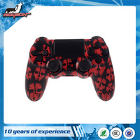 Red Ghost Design Hydro Dipped Controller Shell Case for PS4 Housing