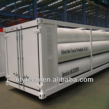 PZ25-4000-610 type CNG Storage jumbo Cylinder Container Skid-Mounted Transportation Equipment For Filling Station