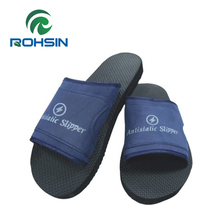 Dongguan ESD slippers safety PVC strap work slippers for anstatic workshop