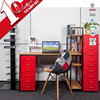 Office metal storage cabinet with vertical 10 drawer