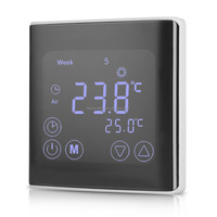 C17 touch screen hvac thermostat with programmable