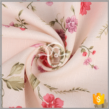 3016 High quality 100% polyester printing linen fabric wholesale linen fabric