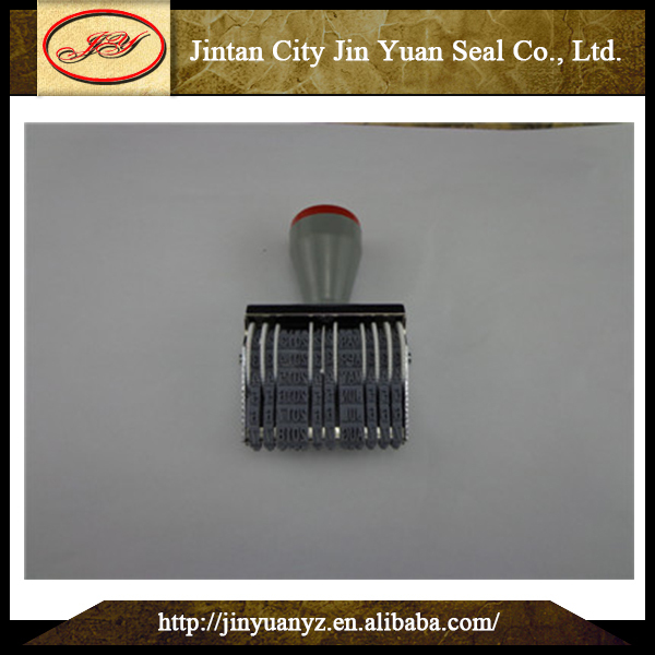 China Professional steel date inserts date stamps